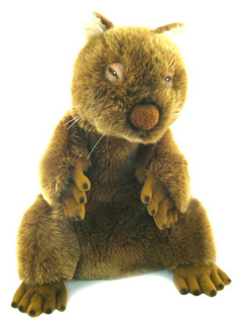 Full Body Wombat Hand Puppet (Large)