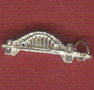 Sydney Harbour Bridge Silver Charm