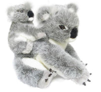 Australian Koala Mother & Baby Soft Plush Toy (23cm)