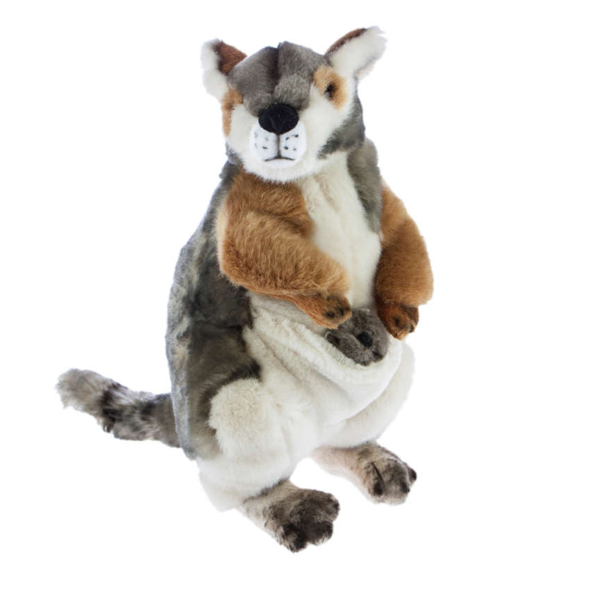 Australian Wallaby Soft Plush Toy (30cm)