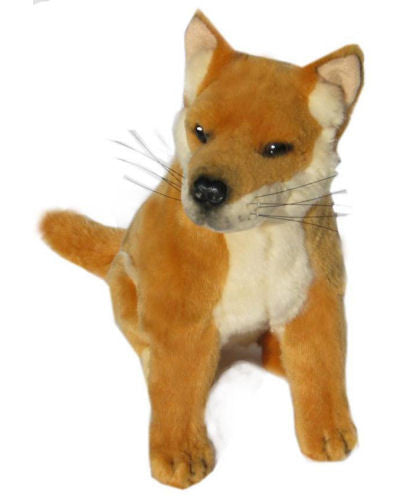 Byron The Sitting Dingo Soft Plush Toy (25cm)