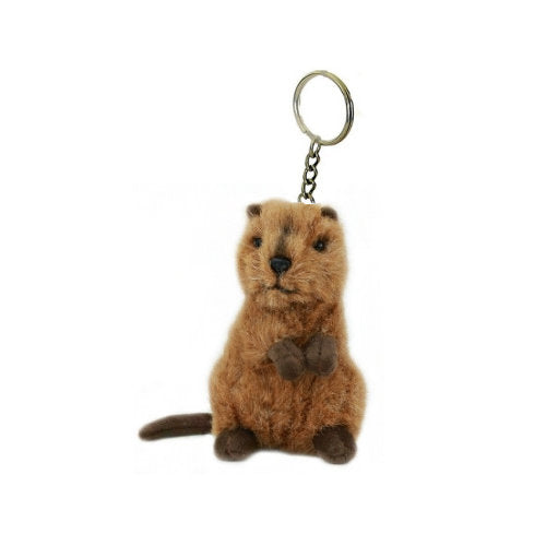 Australian Quokka Mini Plush Toy Keyring (14cm)