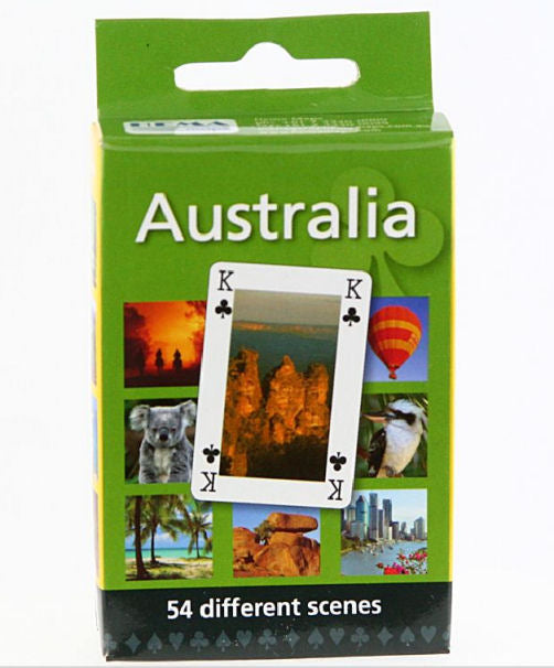 Scenic Photos of Australia Playing Cards