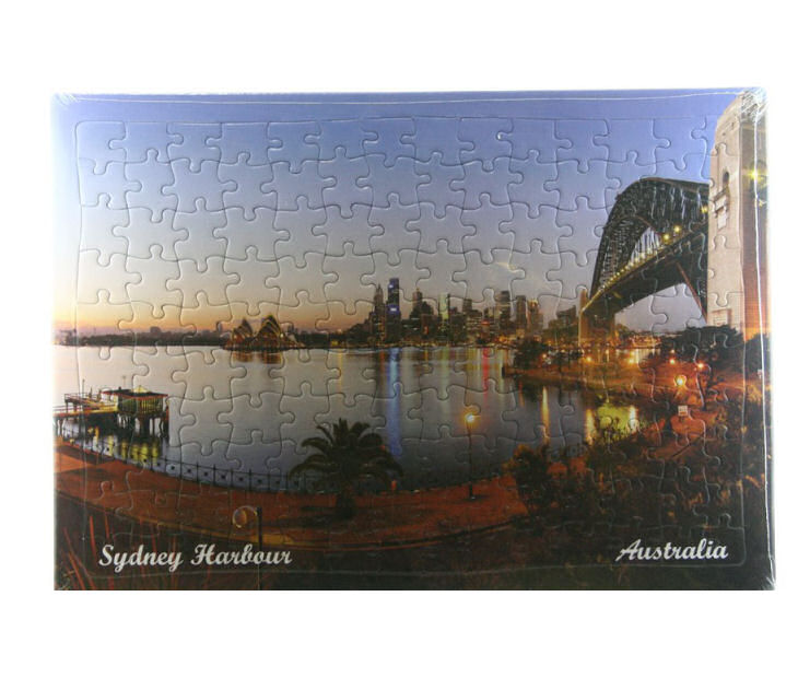 Sydney Bridge At Night Jigsaw Puzzle
