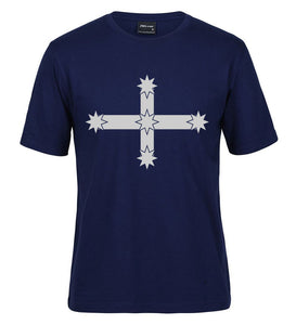 Eureka Flag T-Shirt (Jnr Navy, Adult Sizes)