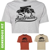 Australia Downunder Uluru Adults T-Shirt (Various Colours)