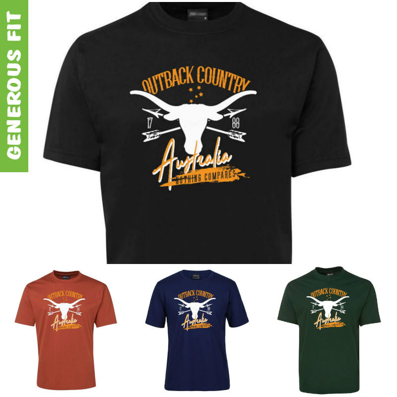Australia Outback Country Adults T-Shirt (Various Colours)