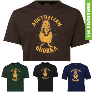 Australian Quokka Adults T-Shirt (Various Colours)