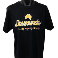 Downunder Kangaroos T-Shirt (Black)