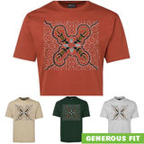 Crocodile Hunt Adults T-Shirt by Shannon Shaw (Various Colours)