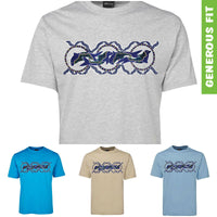 Dolphin Dreaming Adults T-Shirt by Shannon Shaw (Various Colours)