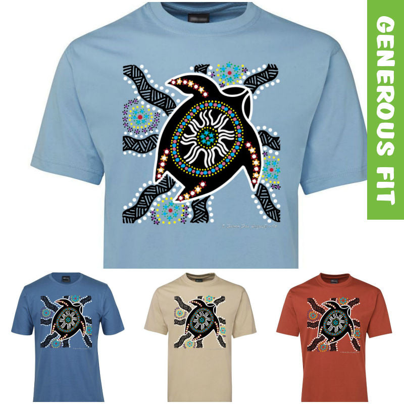 Turtle Nest Adults T-Shirt by Shannon Shaw (Various Colours)