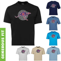 Kangaroo Spirit Adults T-Shirt by Meleisa Cox (Various Colours)