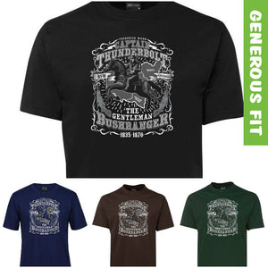 Captain Thunderbolt Australian Bushranger T-Shirt (Various Colours)