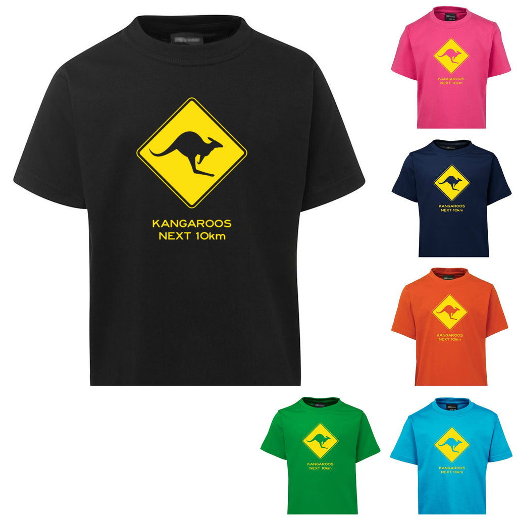 Kangaroos Next 10km Childrens T-Shirt (Various Colours)