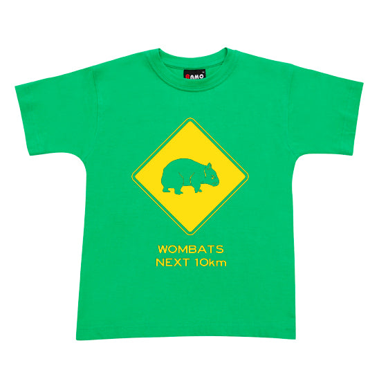 Wombats Next 10km Childrens T-Shirt (Emerald Green)