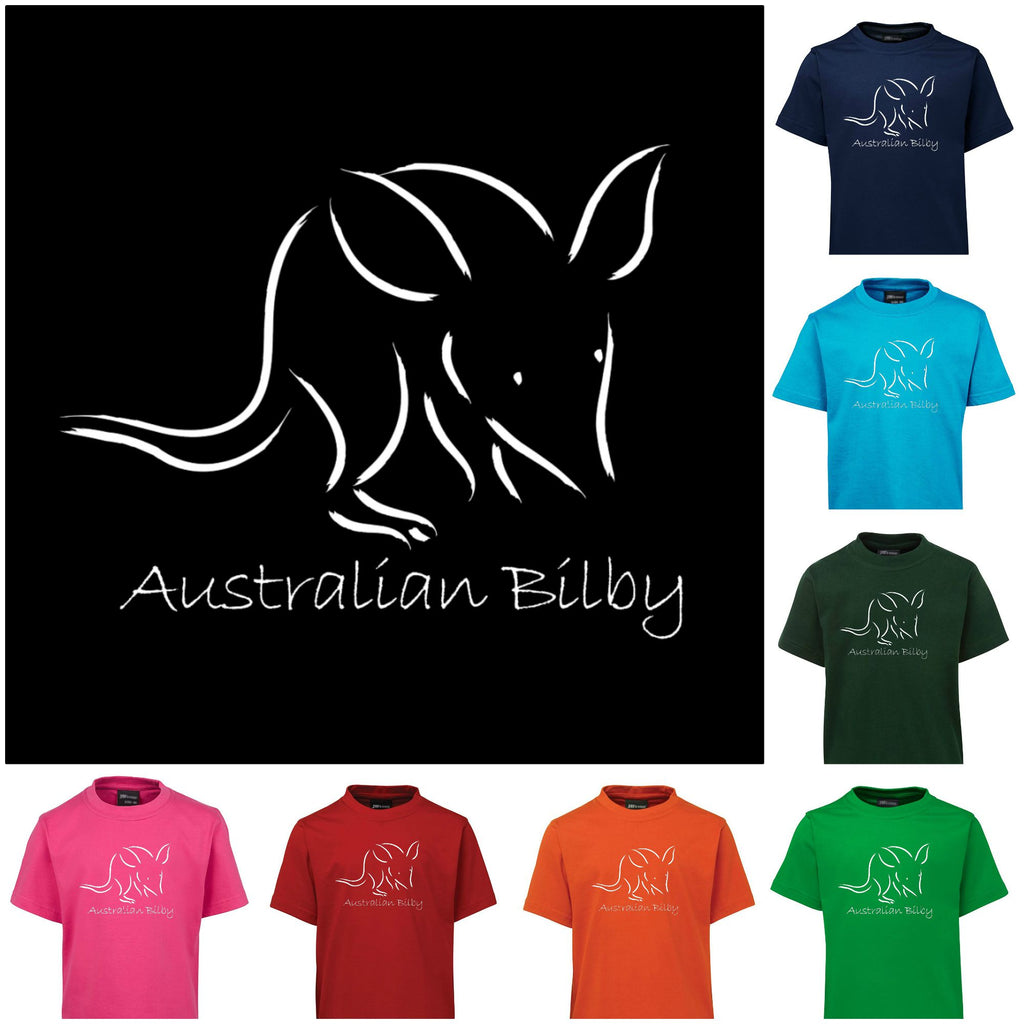 Australian Bilby Childrens T-Shirt (Various Colours)