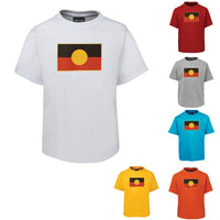 Aboriginal Flag Childrens T-Shirt (Colour Choices Available)