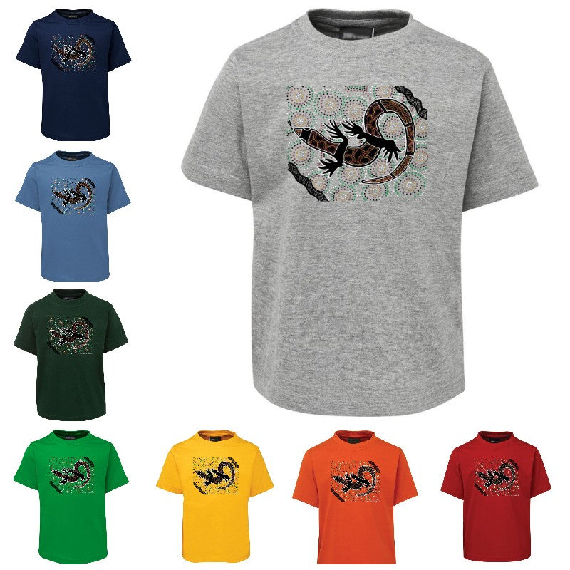 My Lizard Childrens T-Shirt by Shannon Shaw (Various Colours)