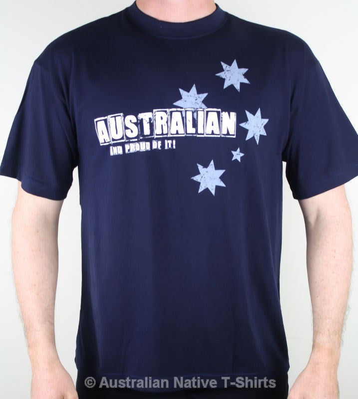 Australian & Proud Adults T-Shirt