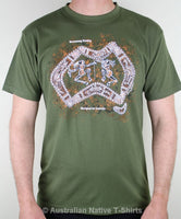 Boomerang Hunting Adults T-Shirt (Olive)