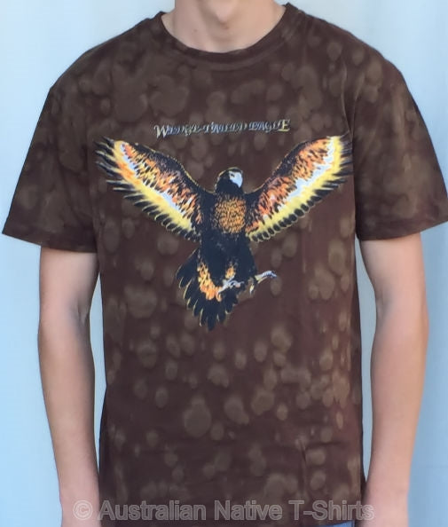 NT Wedgetail Eagle Tie Dye Adults T-Shirt