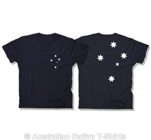 Southern Cross Adults T-Shirt (Navy)