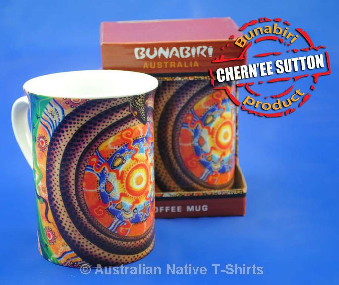 Wanaka Aboriginal Art Printed Mug