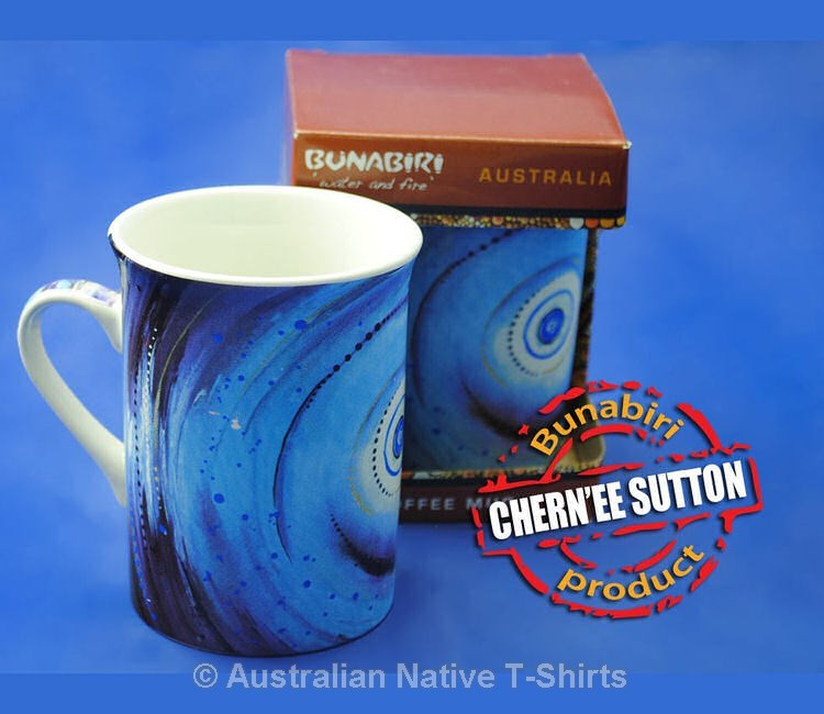 Tuntal Aboriginal Art Printed Mug