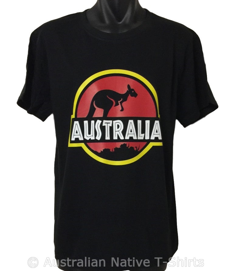 Roo Park Funny Australia T-Shirt (Adult Sizes)
