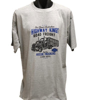 Highway Kings Truck T-Shirt (Marle Grey)