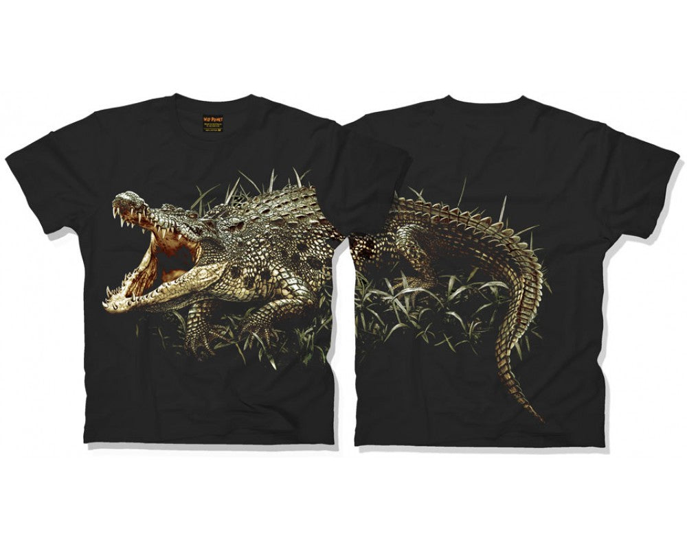 Body Crocodile Childrens T-Shirt (Black)