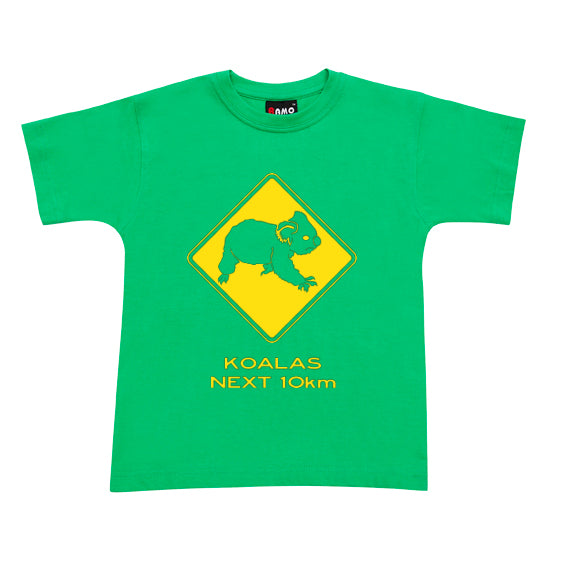 Koalas Next 10km Childrens T-Shirt (Emerald Green)