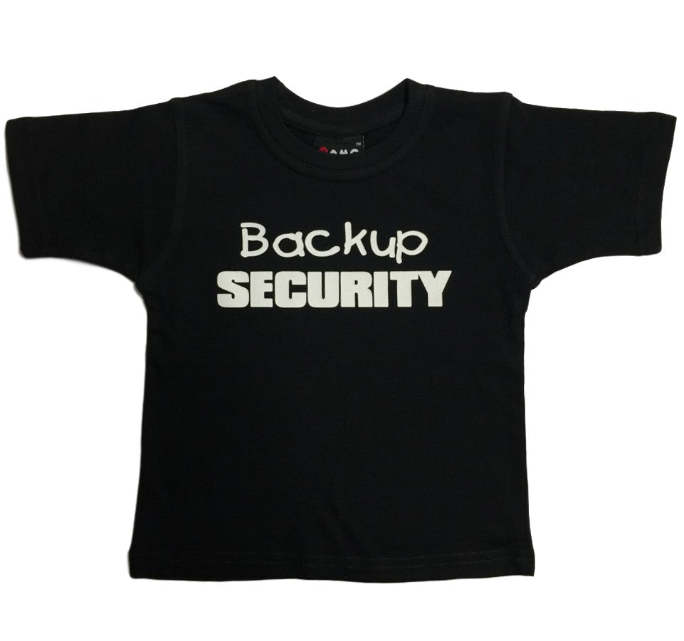 Backup Security T-Shirt (Childrens Sizes)