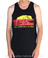 50,000 Years of Culture Aboriginal Pride Mens Singlet