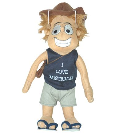 Outback Jack Stuffed Toy (27cm)