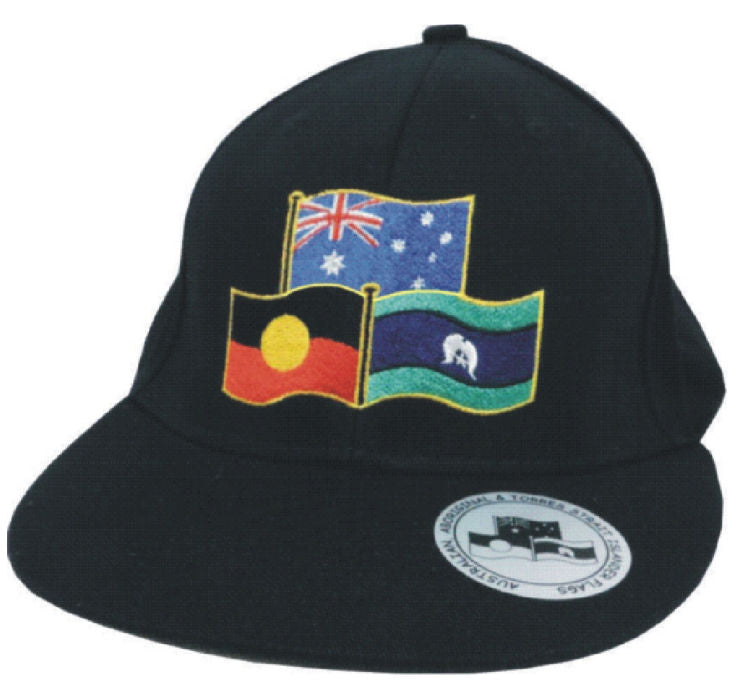Aboriginal Torres Strait Australian Flag Adults Baseball Cap