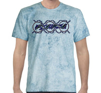 Dolphin Dreaming Colour Blast T-Shirt by Shannon Shaw (Ocean)