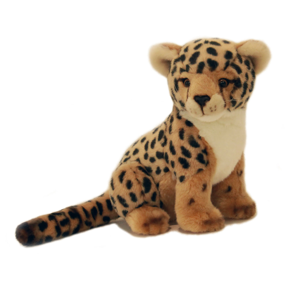 Cute Cheetah Cub Soft Plush Toy (30cm)