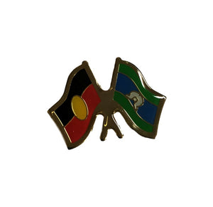 Aboriginal & Torres Strait Islands Flag Badge Hat Pin