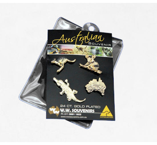 Australiana Hat Pins (Carded 4 Pack)