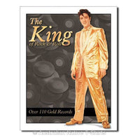 Elvis Presley Gold Suit Tin Sign (40.5cm x 29cm)