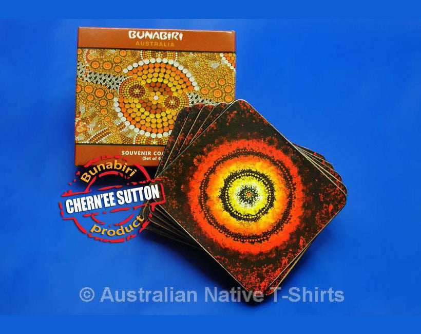 Maraputankali Aboriginal Art Coasters - Set of 6
