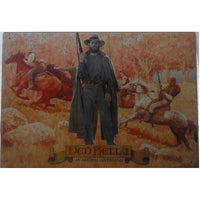 Ned Kelly: Australian Legend Tin Sign (50cm x 35cm)