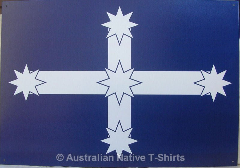 Eureka Flag Tin Sign (50cm x 35cm)