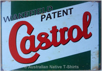 Wakefield Castrol Oil Green Tin Sign (50cm x 35cm)