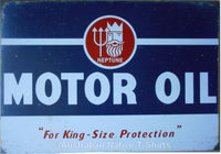 Neptune Motor Oil Tin Sign (50cm x 35cm)