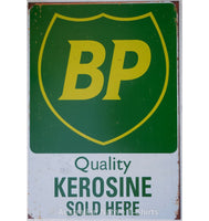 BP Quality Kerosine Tin Sign (35cm x 50cm)