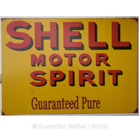 Shell Motor Spirit Tin Sign (50cm x 35cm)