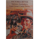 VB Beer Cattle Drive Advertisement Tin Sign (35cm x 50cm)